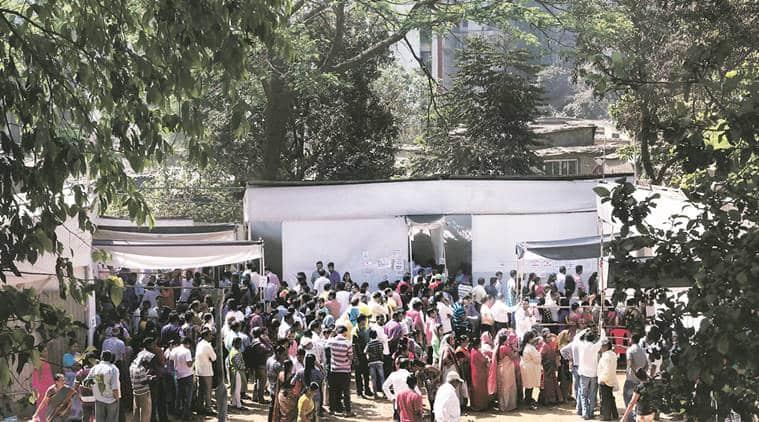 BMC, BMC polls, BMC elections 2017, BMC poll turnout, shiv sena, BMC voters, Brihanmumbai Municipal Corporation, Brihanmumbai Municipal Corporation elections, indian express news, india news
