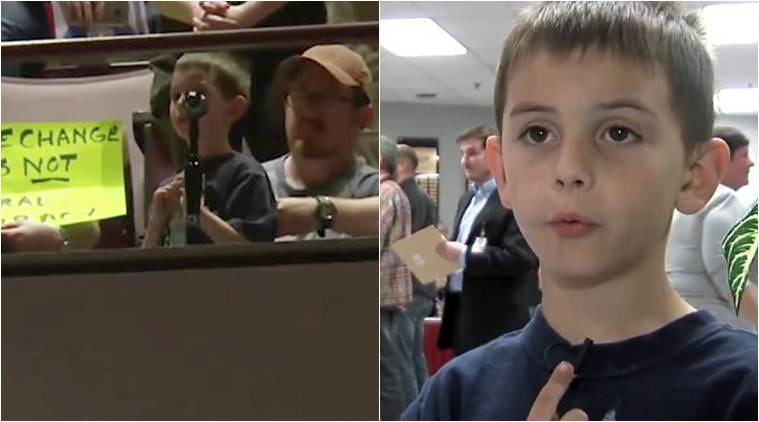 donald trump, trump wall, trump mexoco wall. kid oppose mexico wall, tom cotton, trump senator opposed by kid mexico wall, viral video, trending video, world news, latest news