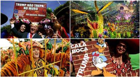 Brazil Carnival 2017: From political parades to bloc parties, Brazilians take the wild way