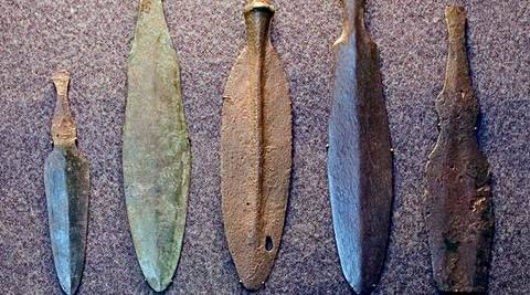 Stash of rare Bronze Age weapons discovered in Scotland