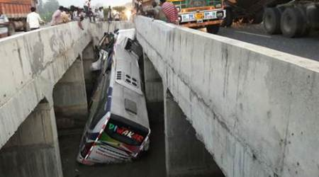 Andhra Pradesh accident: 11 killed, several injured after bus falls into canal in Krishna district