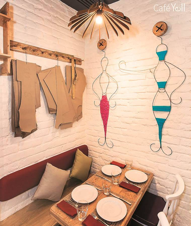 Cafe Yell, defence colony market, make noise, food review, delhi cafe, delhi food joint, indian express