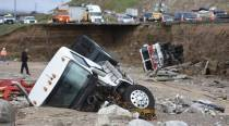 US: Biggest storm in five years thrashes Southern California