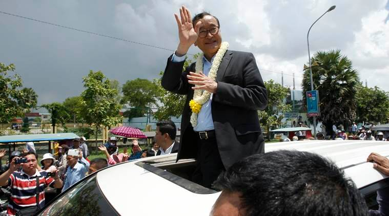 Sam Rainsy,  Sam Rainsy Cambodia, Cambodia, Cambodia Rainsy, Sam Rainsy resignation,  Cambodian People's Party, latest news, latest world news