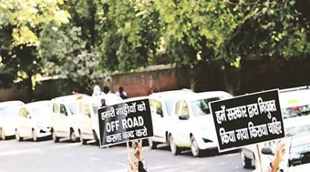 ola, uber, ola strike, uber strike, delhu high court, ola uber protest, indian express news, delhi, delhi news