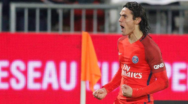 edinson cavani, cavani, ligue 1, ligue 1 table, french league, psg, paris saint germain, bordeaux, psg vs bordeaux, cavani volleys, football news, sports news