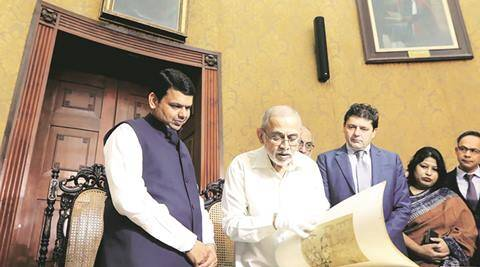 CM Fadnavis inaugurates Town Hall: Refurbished Central Library opens topublic