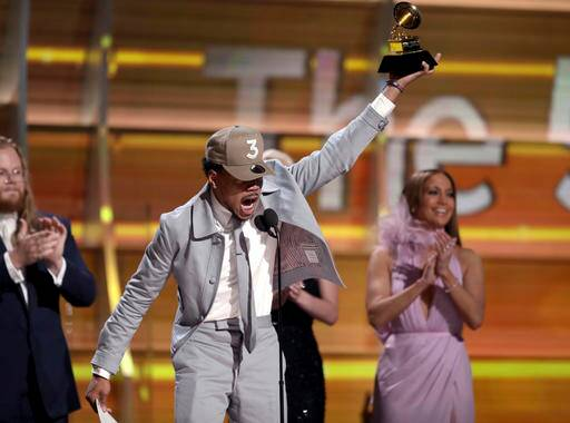 Chance the Rapper, Chance the Rapper grammy