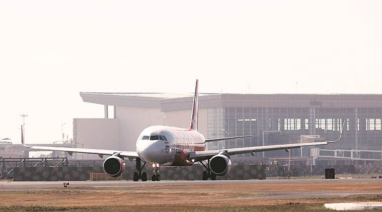 chandigarh pollution, air quality index, chandigarh airport, smog, flights to chandigarh, visibility levels, indian express