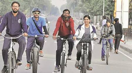 Chandigarh: 'I ride 30 to 40 km every day, the biggest problem is traffic'
