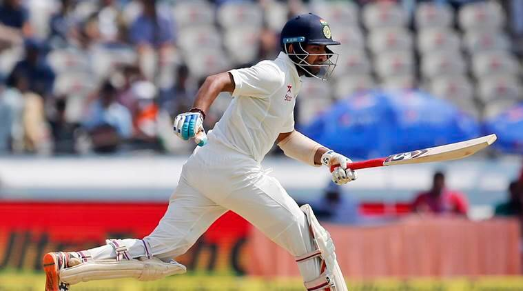 india vs bangladesh, cheteshwar pujara, pujara, ind vs ban day 4, pujara 50, pujara half century, cricket news, sports news