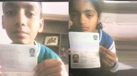 Australia-born children, children's passport, children's custody, illegal custody, chandigarh news, indian express news