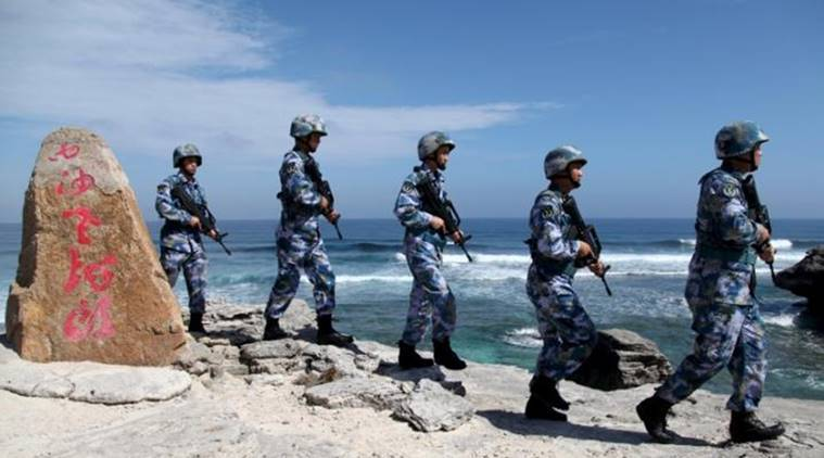There will be consequences for Chinese militarisation in South China Sea United States