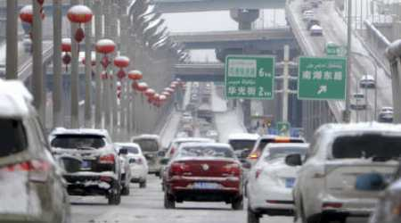 China's western prefecture to track cars by satellite as an increased securitymeasure
