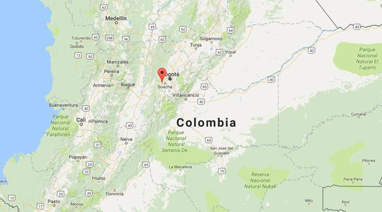 colombia news, colombian city news, world news, indian express news