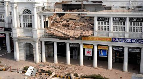 Delhi: After CP roof collapses, NDMC to conduct safety audit of Khan Market buildings too