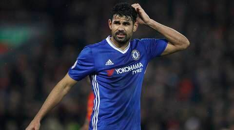 Chelsea benefiting from Diego Costa's cool head, says Thibaut Courtois