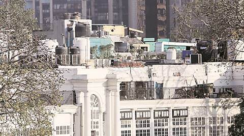 Two cave-ins at Delhi's Connaught Place have exposed chinks and sent authorities into tizzy