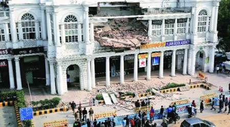 CP building collapse weighs heavy on ground floor shops