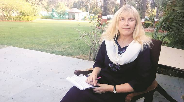 Open defacation, open defacation shaming, Val Curtis, LOndon, Val Curtis, london, Gujarat, Gujarat Val Curtis,, Sanitation expert Val Curtis,, sanitation, gujarat news, indian express
