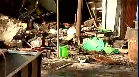 Cylinder blast in Vikaspuri in Delhi, 2 firemen succumb to injuries