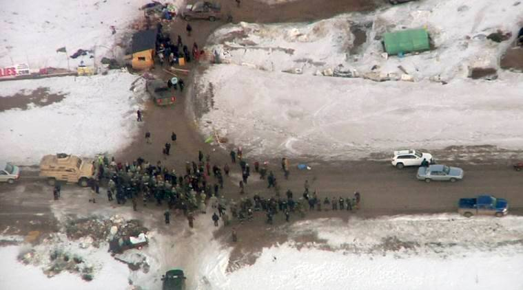 Dakota Access oil pipeline, Dakota Access oil pipeline project, US oil pipeline, Dakota Access oil pipeline protest, Dakota Access oil pipeline  environmental threats, world news, indian express news