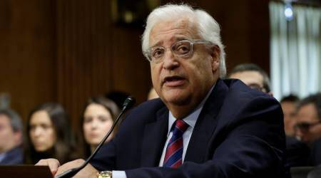 US Ambassador: Israel occupies just two per cent of WestBank