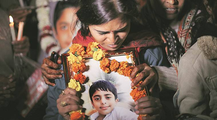 Ryan school student's death, Ryan International School, Devansh death, Meena, AIIMS, Delhi, India news, Indian Express