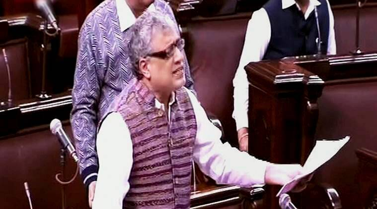 Rajya sabha, TMC MPs walkout, TMC MPs, RS, derek o'brien, BJP, BJP threats, india news, indian express news