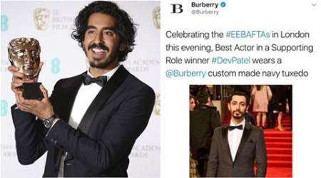 Dev Patel won BAFTA for Lion so why's Burberry congratulating RizAhmed?