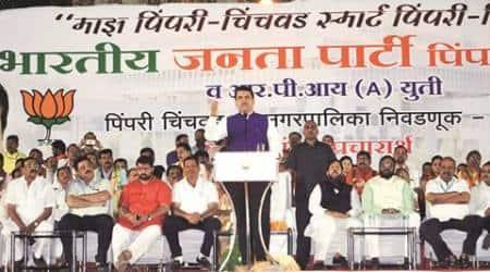 Devendra Fadnavis, Pune news, PMC polls, Maharashtra civic polls, Civic polls in Pune, Pune news, Latest news, maharashtra news, India news, National news