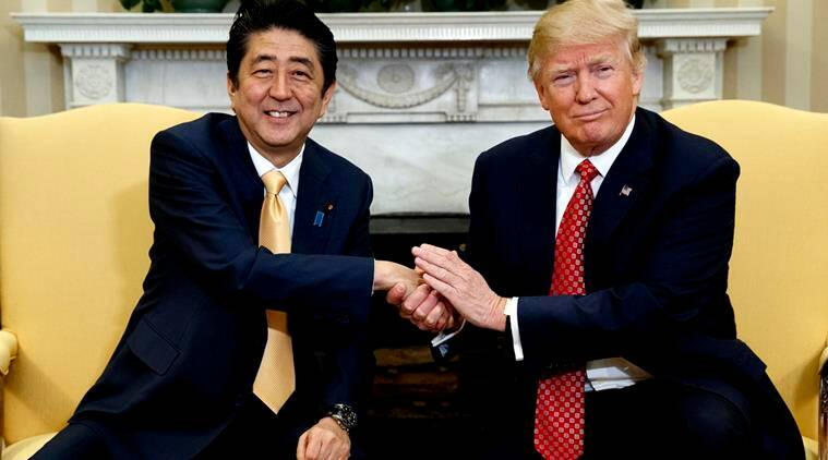 donald trump�s super awkward handshake and what does it