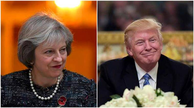 Valentines Day, Valentines Day Prank, Donald Trump Theresa May, Valentines  Day 2017,