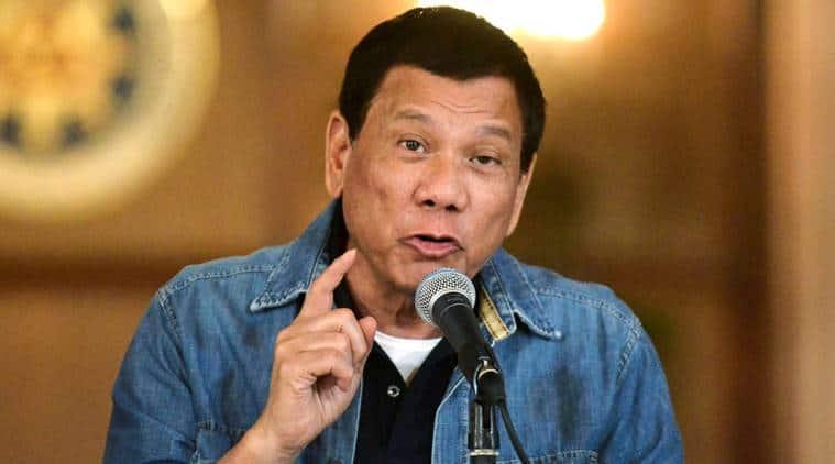 Philippine President Rodrigo Duterte, Rodrigo Duterte, china, beijing, philippines china, south china sea, philippines rebels, philippines talks, world news, indian express