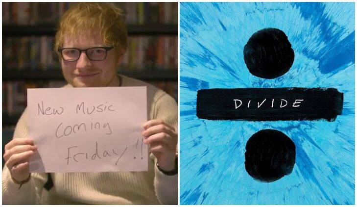 Ed Sheeranu0027s Next Song From His Album Divide Will Be Released At Midnight,  On Friday