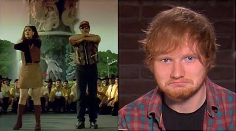 ed sheeran, ed sheeran shape of you, ed sheeran shape of you iit roorkee students, iit roorkee ed sheeran shape of you video, sunny deol raveena tandon ed sheeran shape of you, trending, india trending, trending and viral, indian express