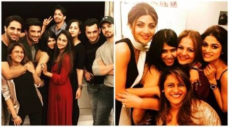 Sushant Singh Rajput, Shilpa Shetty, Sooraj Pancholi and others add glamour to Ekta Kapoor's bash