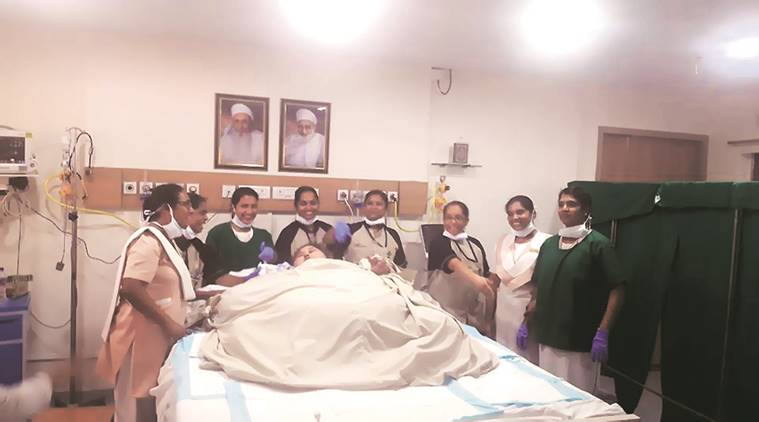 Eman Ahmed, world heaviest woman, Eman Ahmed surger, Eman Ahmed mumbai, egypt fat woman, egypt heaviest woman, indina express news, india news