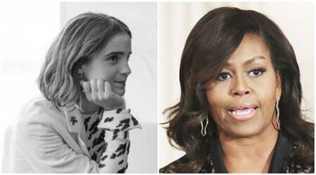 Emma Watson wants a heart to heart with Michelle Obama, the former FLOTUS