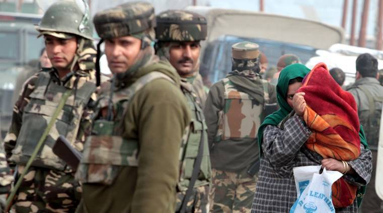 Kashmir insurgency attack, kashmir insurgency, army pays homage, indian express, india news, latest news