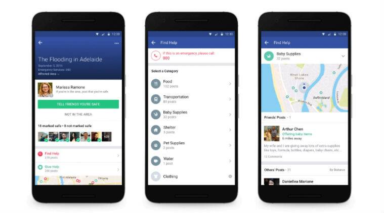 Facebook, facebook safety Check, Safety Check Community Help, Facebook Community Help, Facebook app, Facebook weather update, Facebook app weather update, Android, iOS, technology, technology news