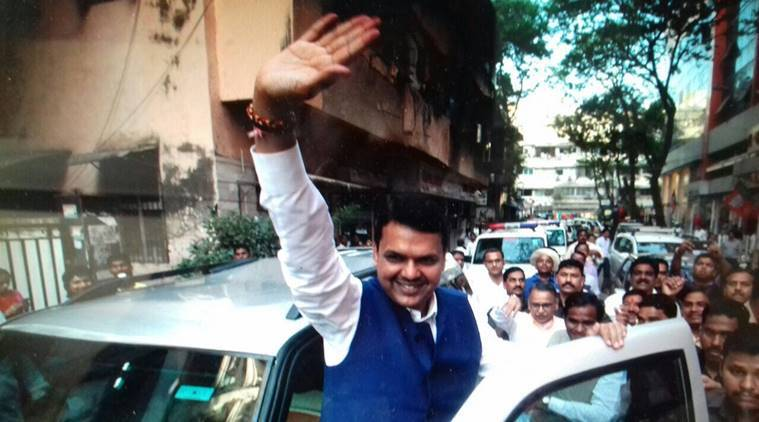 devendra fadnavis, Good morning Sqaud, open defecation squad, open defecation, Maharashtra news, Indian express news, India news, latest news