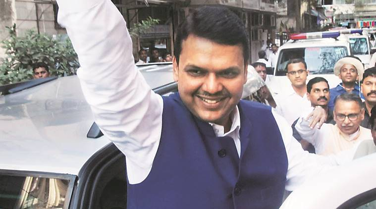 Up-Lokayukta, Devendra Fadnavis, Shiv Sena, Devendra fadnavis residence, indian express news, mumbai news, india news