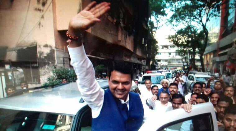 maharashtra civic polls 2017, maharashtra civic polls results, devendra fadnavis, fadnavis, maharashtra CM, BJP leader, BJP victorious, BJP victory, india news, indian express news