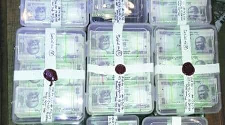 delhi, delhi fake currency, up polls fake currency, delhi fake currency arrest, fake note arrest delhi, india news, delhi news, indian express news