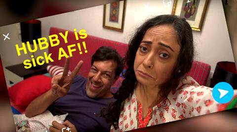 if parents behaved like us, rajat kapoor parents video, parents social media obsessed, social media obsessed parents video, rajat kapoor filter copy video, social media obsession videos, social media rajat kapoor, rajat kapoor sheeba chadha video, filter copy parents behaved like us, indian express, indian express news