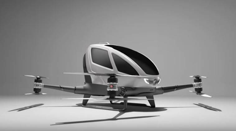 Taxi drones set for July launch of passenger service over Dubai