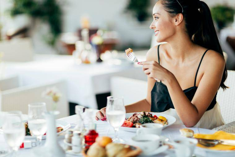Treat yourself to good food on Valentine's Day. (Source: Thinkstock Images)