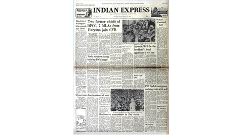 Indira Gandhi, Prime Minister Indira Gandhi, Emergency, Emergency withdrawal, MISA, D.K. Barooah, Congress, Janata Party, indian express news, india news, indian express editorial