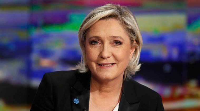 Marine Le Pen, French National Front, French Elections, French Presidential Elections, French Presidential Elections 2017, France, France election news, François Hollande, World news, Indian Express
